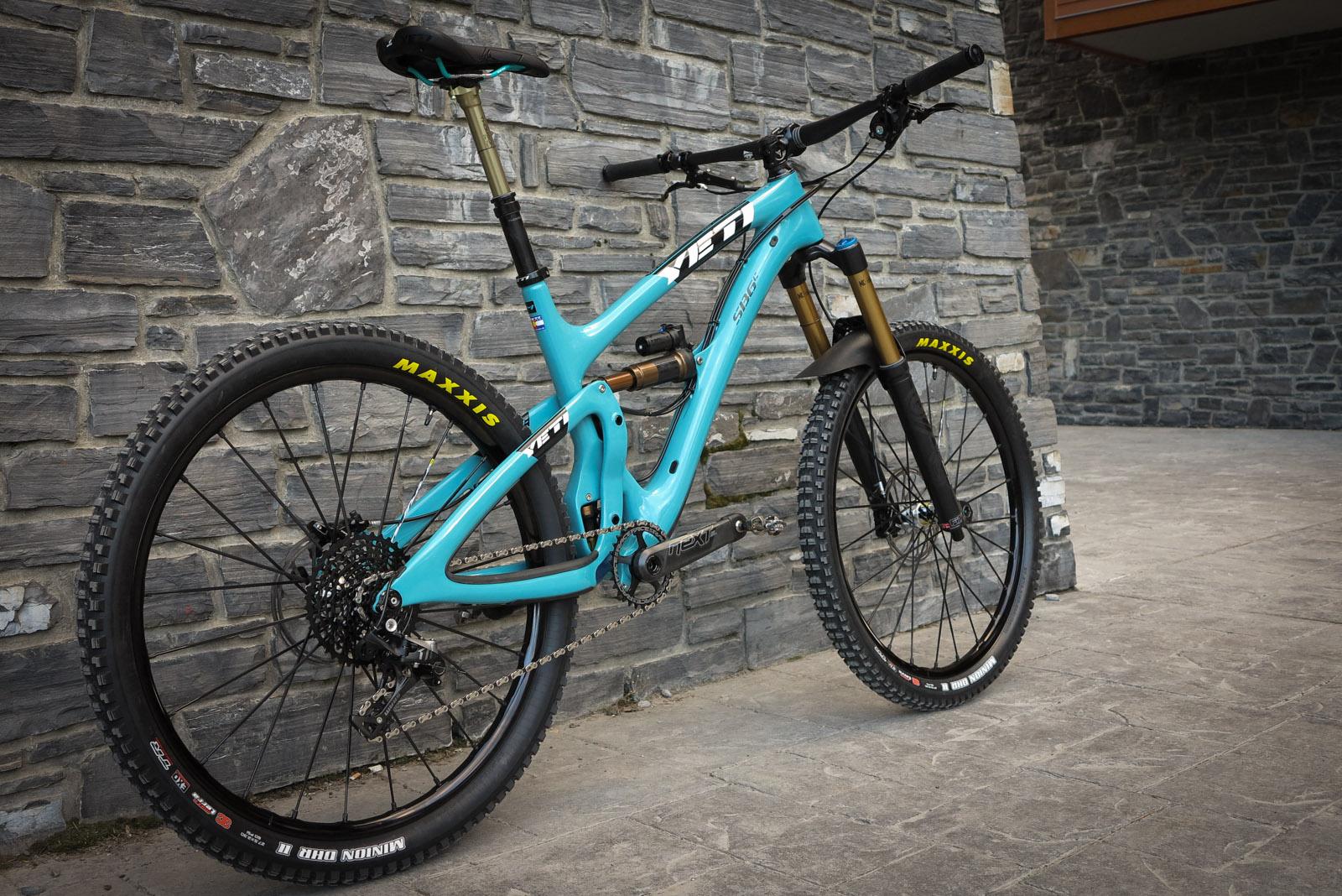 Rad Bike 187 Custom Build Yeti Sb6c